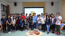 """Alumni Visits RC"" Series -""Alumni Chat Hour"" : Alumnus Ng Wai Fat to share the theory of running ""Tealosophy"""