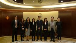 Visit to UM Grand Lotus Scholarship Donor, Bank of China Macau Branch