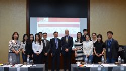 ADO organized CKLC students to visit the Crowne Plaza Macau
